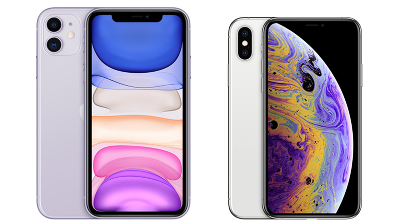 iphone 11 vs xs